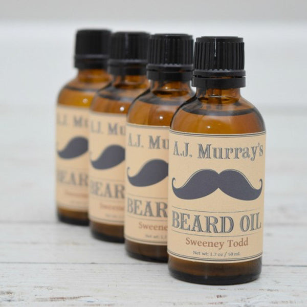 A.J. Murrays - Beard Oil - Sweeney Todd - AJ-BO-ST