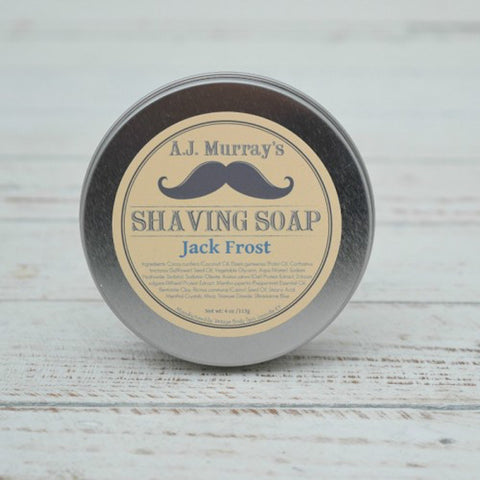 A.J. Murrays - Shave Soap - Jack Frost - AJ-SS-JF