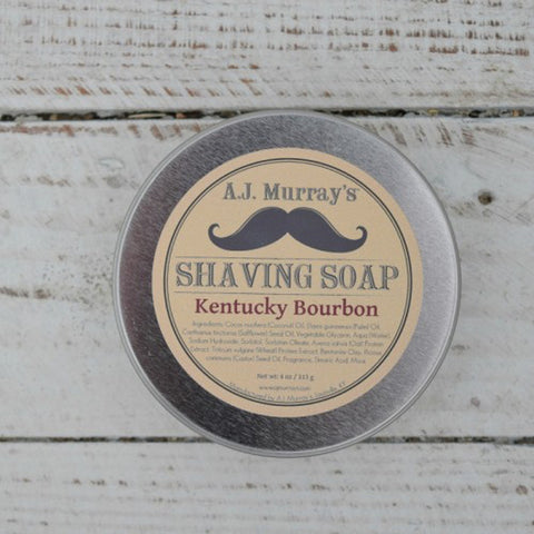 A.J. Murrays - Shave Soap - Kentucky Bourbon - AJ-SS-KB