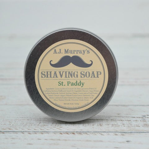 A.J. Murrays - Shave Soap - St. Paddy - AJ-SS-SP