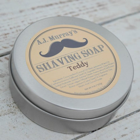 A.J. Murrays - Shave Soap - Teddy - AJ-SS-TE