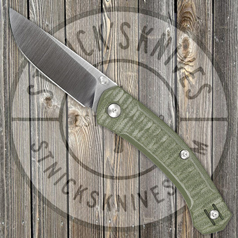 GiantMouse - ACE Iona - Green G10 - Liner Lock - M390