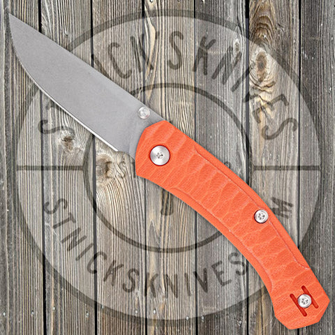 GiantMouse - ACE Iona - Orange G10 - Liner Lock - M390