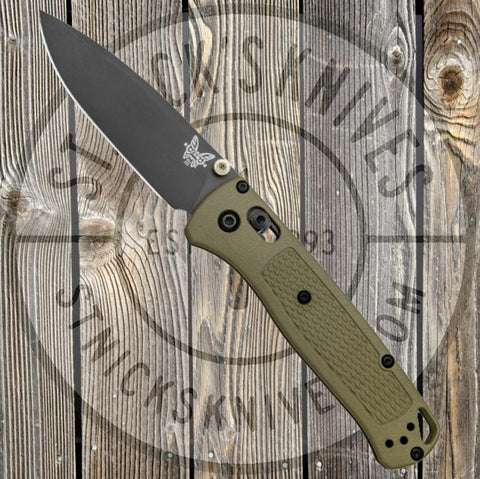 Benchmade - Bugout - AXIS Lock - Grey Grivory - 535GRY-1 - St. Nick's Knives