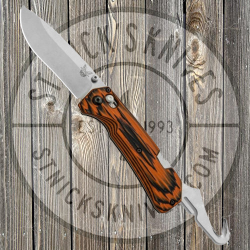 Benchmade - Grizzly Creek - Limited Edition - G10 Black/Orange - 15060-1801
