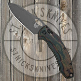 Benchmade - Mini Loco - Limited Edition - 20CV - Smoke Grey PVD - Python Micarta - 818GY-1901