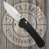 Benchmade - Mini Vallation - Black Aluminum Handle - Axis Assist - 427