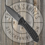 Benchmade - Presidio II - AXIS Lock - Plain Edge - Satin - CF Elite - 570-1