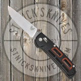 Benchmade - Saibu - Black G10 w/ Cocobolo - Plain Edge - 486