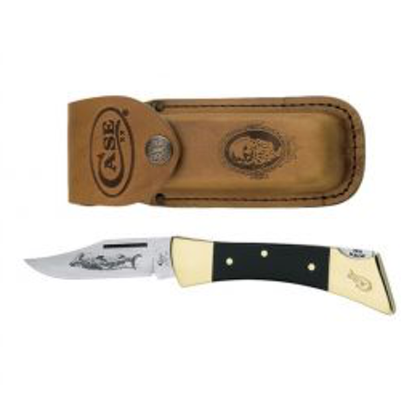 Case - Hammerhead Knife w/ Leather Sheath - 00177