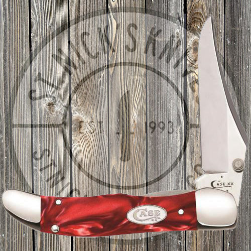 Case - Mid Folding Hunter - Red Pearl Kirinite - 25336