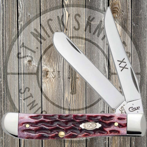 Case - Trapper - Cabernet Bone - 47521
