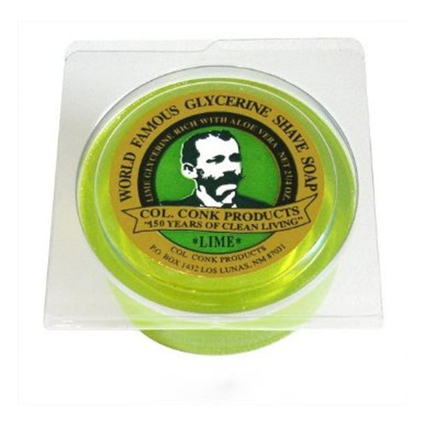Colonel Conk - LIME Soap - 122 - St. Nick's Knives