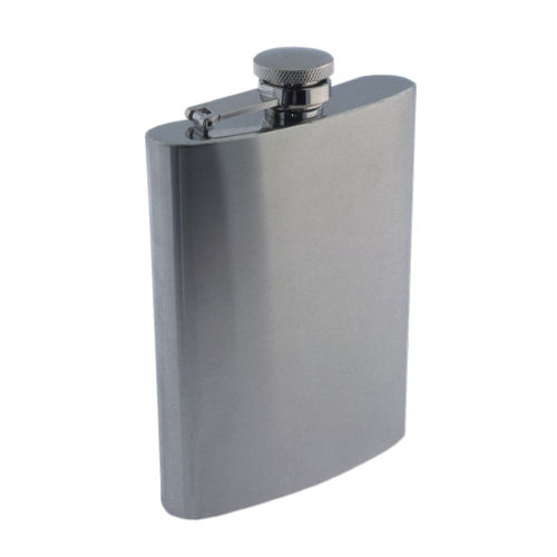 Colonel Conk - Matte Finish - 9oz Flask - 1509 - St. Nick's Knives
