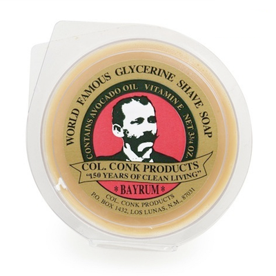 Colonel Conk - Large - Bay Rum - Super Bar Shave Soap - 145