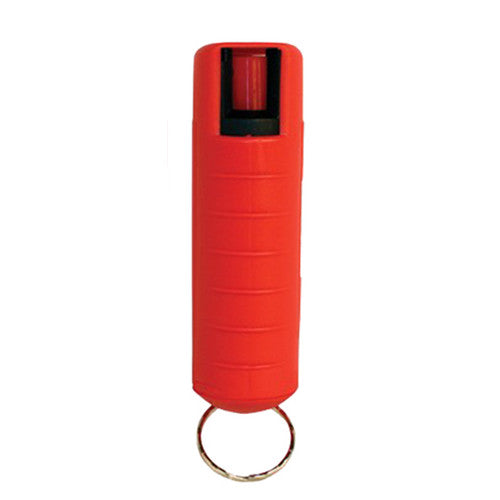 Eliminator - 1/2 oz. Pepper Spray with Hard Case and Key Ring - Red - EHC14R - St. Nick's Knives