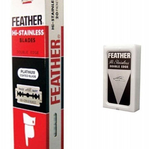Feather - Double Edge Razor Blades - 100 Blades - FEATH100