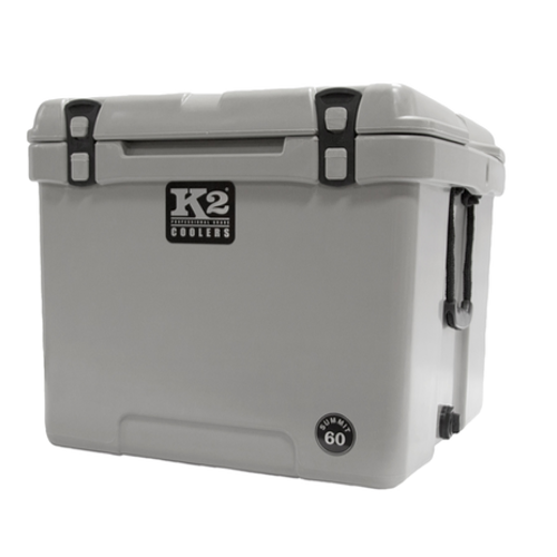 K2 Coolers - Summit - 60qt - Cubed - Gray - S60G - St. Nick's Knives
