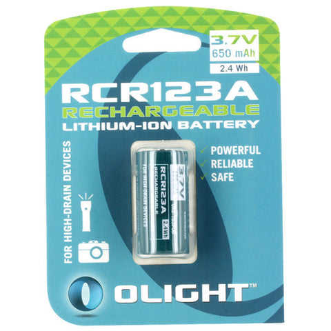 Olight - 16340 650 MAH Battery - OL-RCR123A - St. Nick's Knives