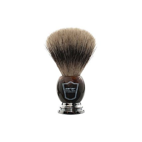 Parker - Deluxe Faux Horn - Pure Badger Brush - HHPB