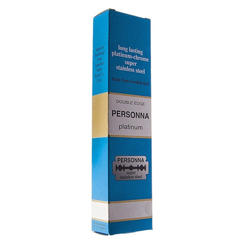 Person - Platinum Double Edge Safety Razor Blades - 200 Blades - PERSBLUE