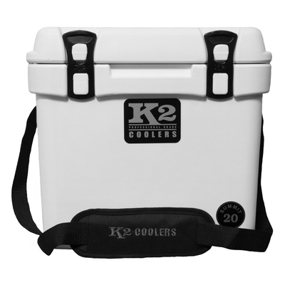 K2 Coolers - Summit - 20qt - Glacier White - S20W - St. Nick's Knives