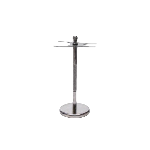 Shave Stand - Chrome - 2 Prong - C2PGSS