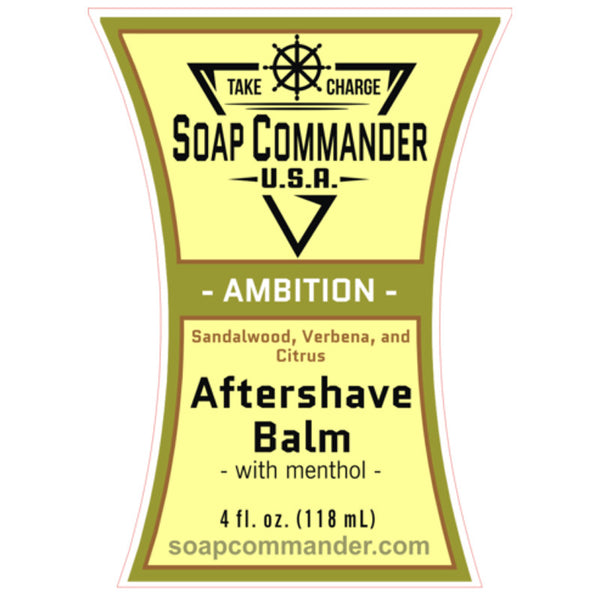 Soap Commander - Ambition - Limited Edition - Aftershave Balm - SC-B-013