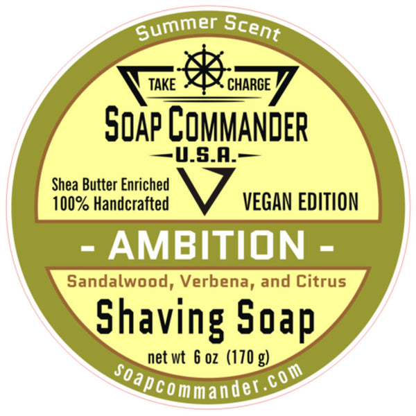 Soap Commander - Ambition - Limited Edition - Shaving Soap - SC-013