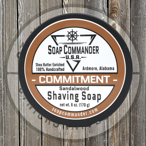 Soap Commander - Commitment - Shaving Soap - SC-016