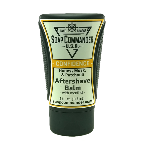 Soap Commander - Confidence - Aftershave Balm - SC-B-006