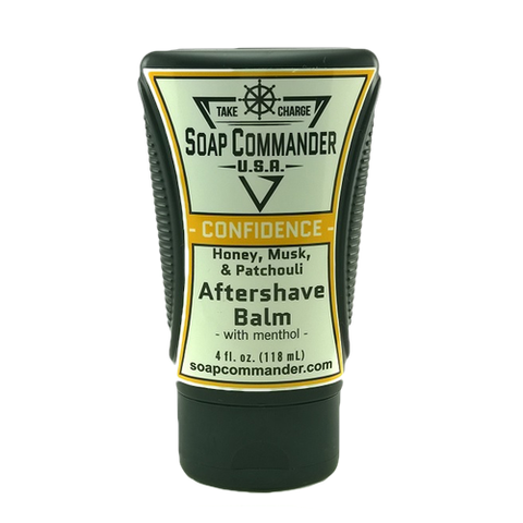 Soap Commander - Confidence - Aftershave Balm - SC-B-006 - St. Nick's Knives