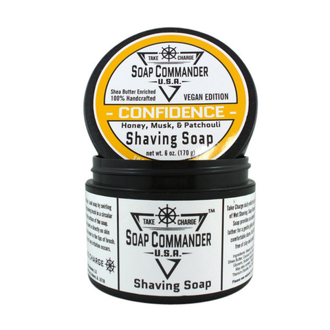 Soap Commander - Confidence - Shaving Soap - SC-006 - St. Nick's Knives