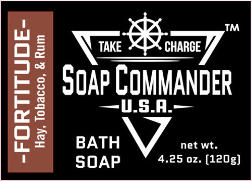Soap Commander - Fortitude - Bath Soap - SC-BS-009