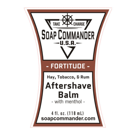 Soap Commander - Fortitude - Limited Edition - Aftershave Balm - SC-B-009 - St. Nick's Knives