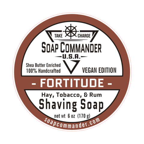 Soap Commander - Fortitude - Limited Edition - Shaving Soap - SC-009