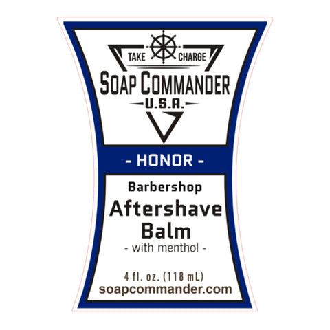 Soap Commander - Honor - After Shave Balm - SC-B-014