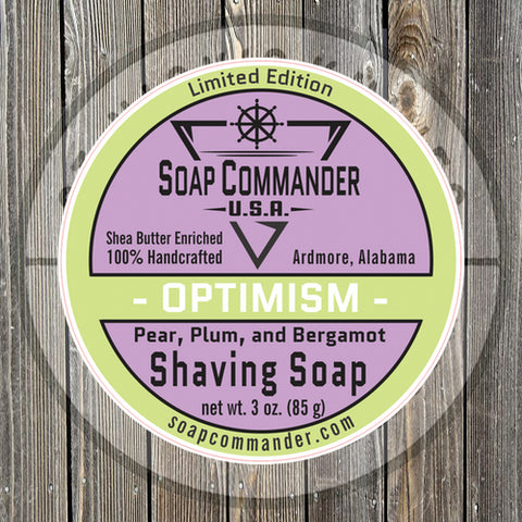Soap Commander - Optimism - Limited Edition - Shaving Soap - SC-013