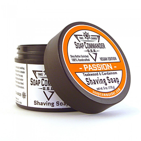 Soap Commander - Passion - Shaving Soap - SC-005 - St. Nick's Knives