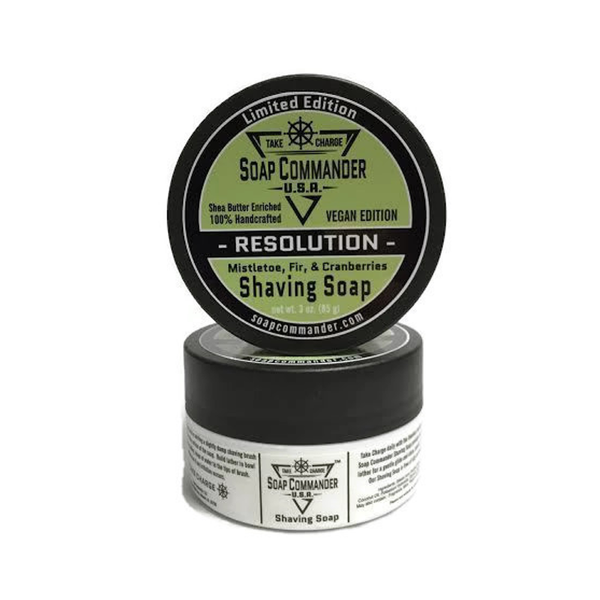 Soap Commander - Resolution - Limited Edition - Shaving Soap - SC-011