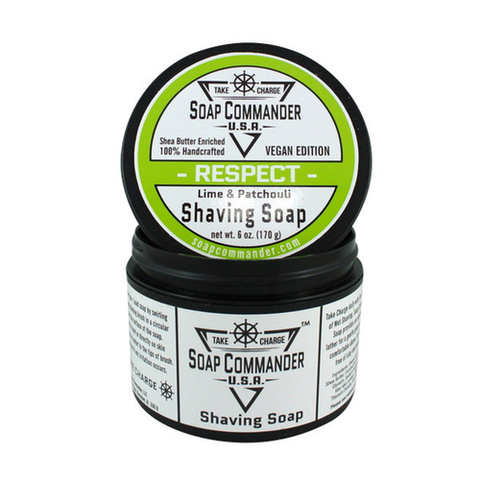 Soap Commander - Respect - Shaving Soap - SC-002 - St. Nick's Knives