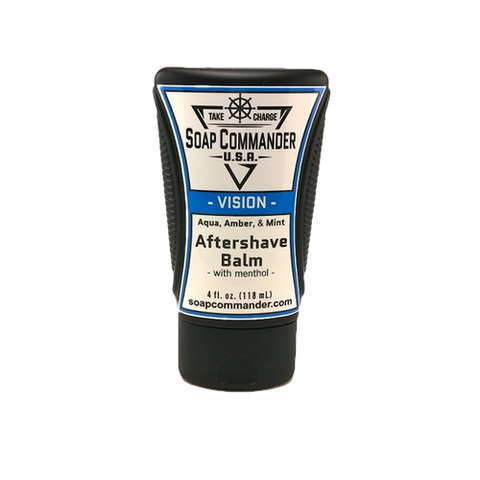 Soap Commander - Vision - Aftershave Balm - SC-B-003 - St. Nick's Knives