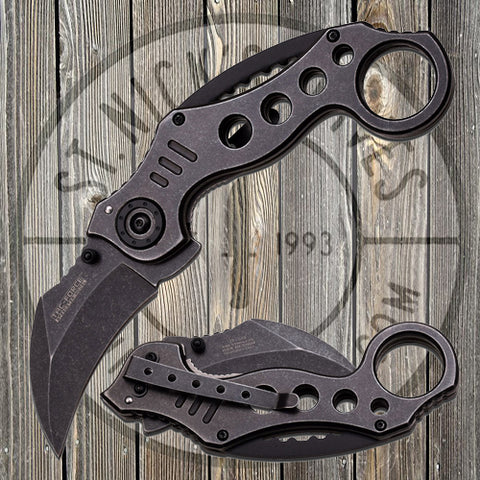 Tac-Force - Spring Assisted - Stone Wash - Karambit - TF-578SW