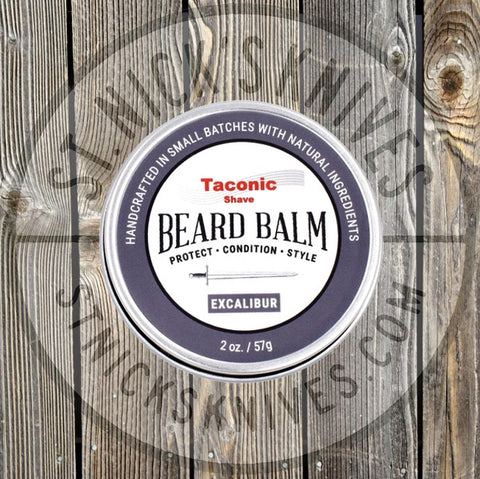 Taconic Shave - Beard Balm - Excalibur Scent - TSBRDBALM-EX - St. Nick's Knives