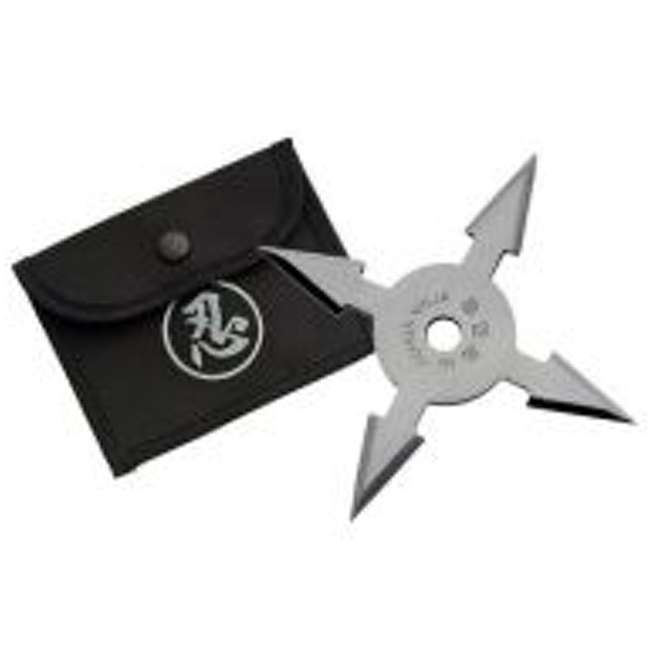 Throwing Star - 4 Point w/ Pouch - 210766