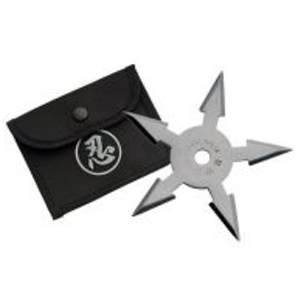 Throwing Star - 5 Point w/ Pouch - 210767