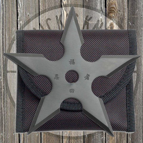 Throwing Star - 5 Point w/ Pouch - 90-20DG