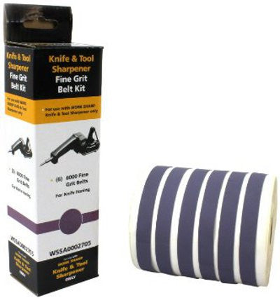 Work Sharp - Belt Accessory Kit - Fine 6000 - 6 Belts - WSSA0002705