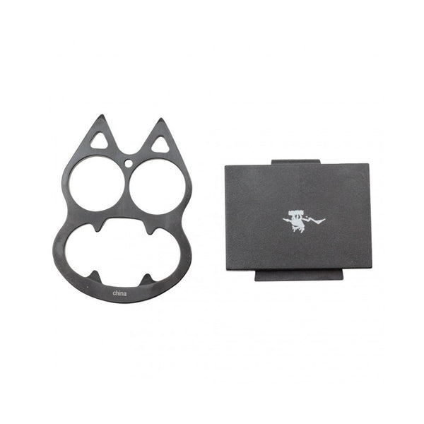 Wuu Jau - Cat Knuckle w/ Sheath - Black - M0894-BK