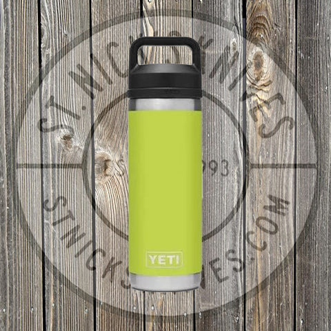 YETI - Rambler - 18oz Bottle - 21071060023 - Chartreuse - YRAM18CT